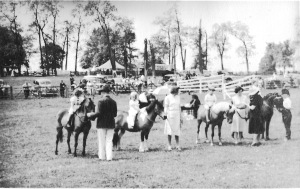 Horse Show at Doughoregan Manor, Courtesy of Howard County Historical Society